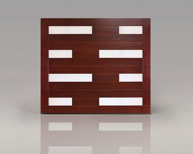 Clopay garage doors introduces new models at ibs for Clopay wood garage doors
