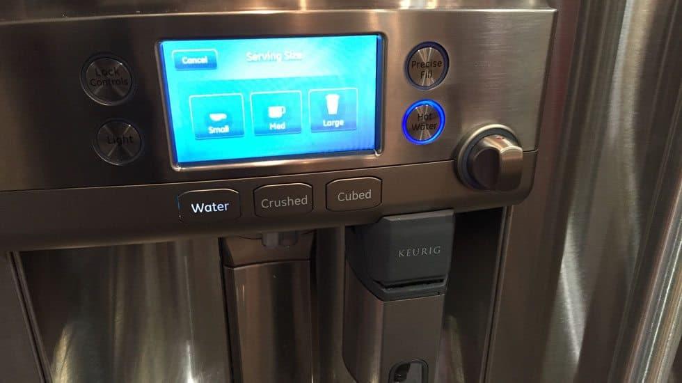 ge keurig refrigerator feature