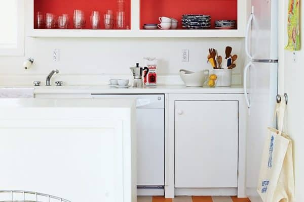 a new lease fire island kitchen red paint benjamin moore