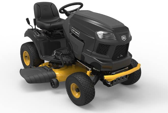 "22 HP V Twin 42"" Riding Mower featured"