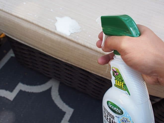 How to Keep Your Patio Furniture Clean of Dirt and Stains