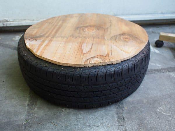 wood-tire