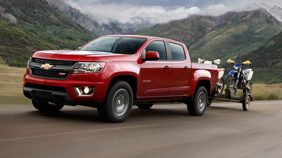 2015 chevrolet colorado z71 towing