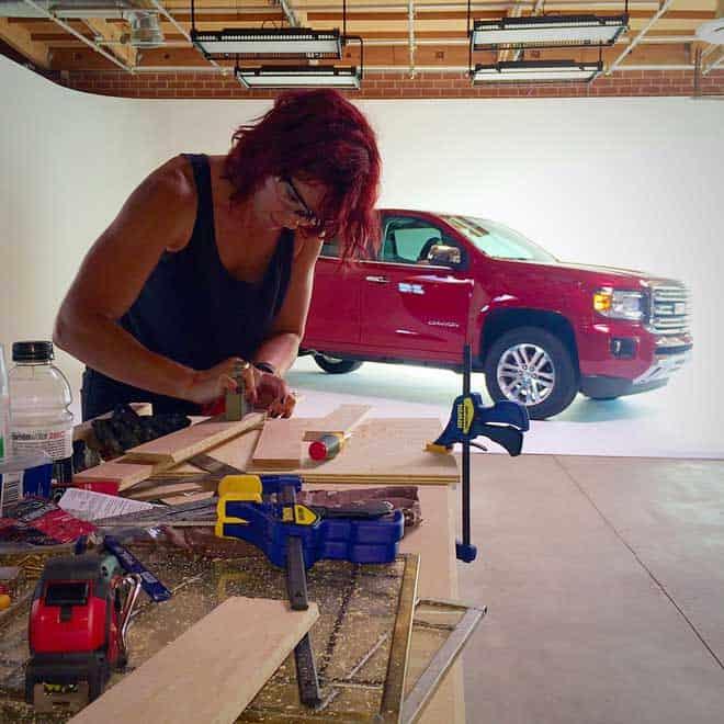 GMC-DIY-Challenge-Laura-Dahl-sanding