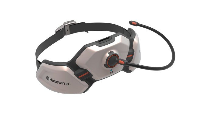 Design concept Husqvarna Ramus hip belt battery