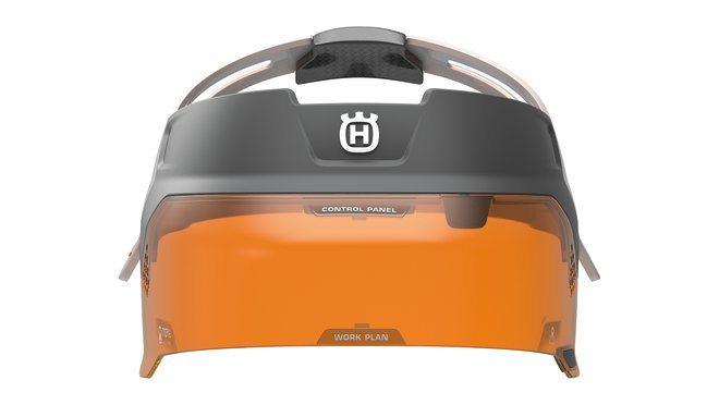 Design concept Husqvarna Ramus visor from the front