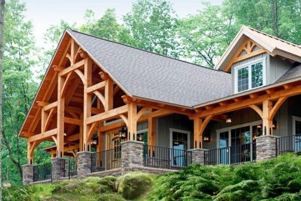 timber-frame-home - 1