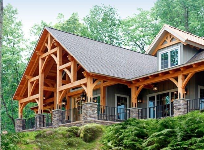 timber frame home 1