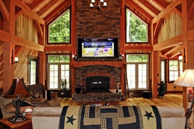 timber frame home 11