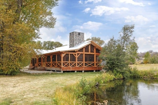 timber frame home 17