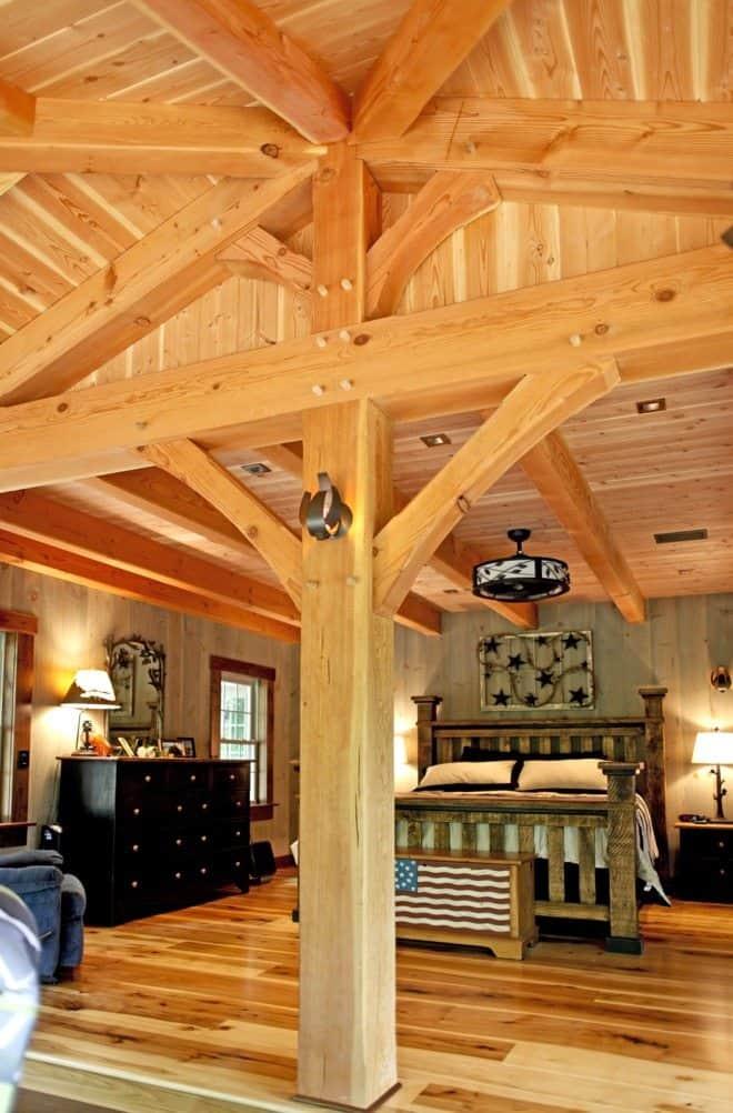 timber frame home 7