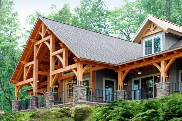 Timber Frame Home Construction is Gorgeous