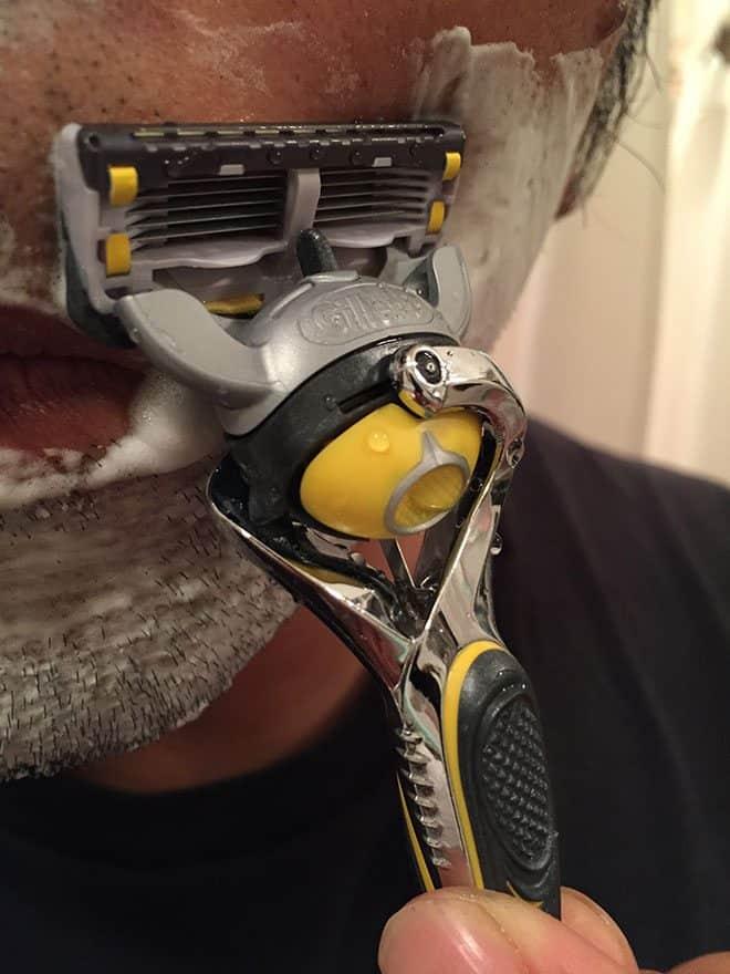 gillette-shave