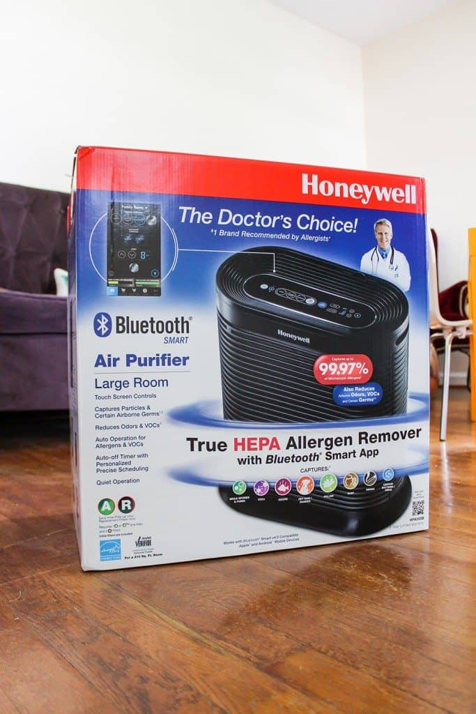 Honeywell Bluetooth Air Purification Unit a Must Have for Allergy Sufferers