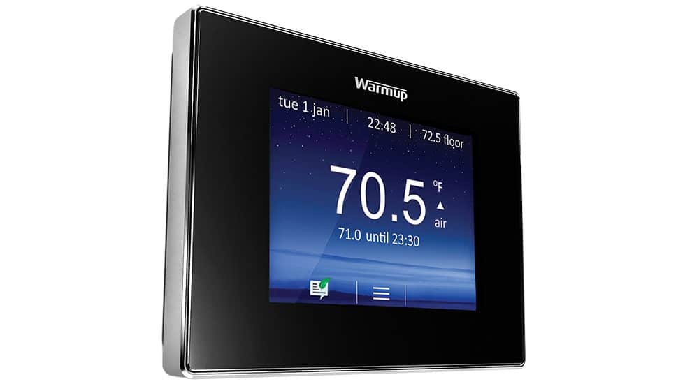 Prep Your Home Heating with Warmup's Newest Thermostat