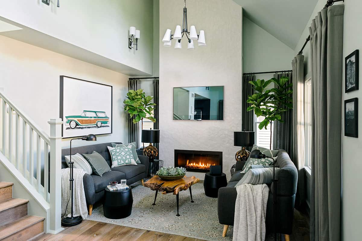 HGTV Urban Oasis 2016 living room