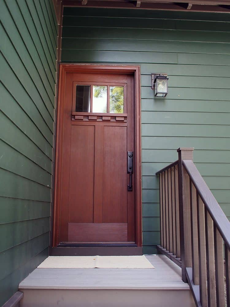 clopay door back