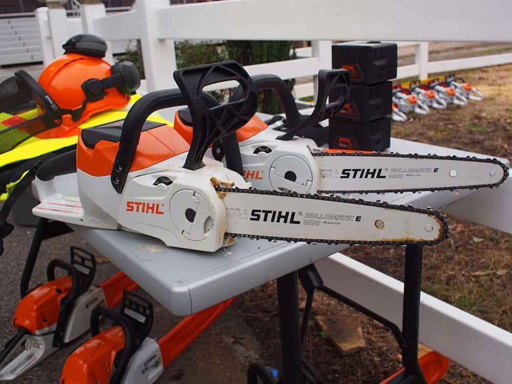 stihl cordless chainsaws