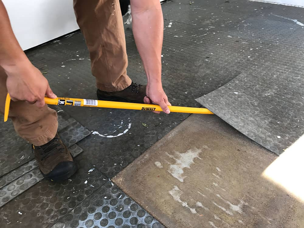 remove tiles
