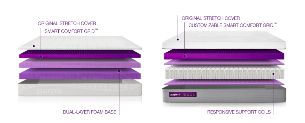 purple mattress. Unique Purple Especially Compared To Our Old Mattress We Actually Feel Lighter When  Laying On The Purple And Can Sense U201czero Gravitylike Feelu201d That Company  Intended Mattress R