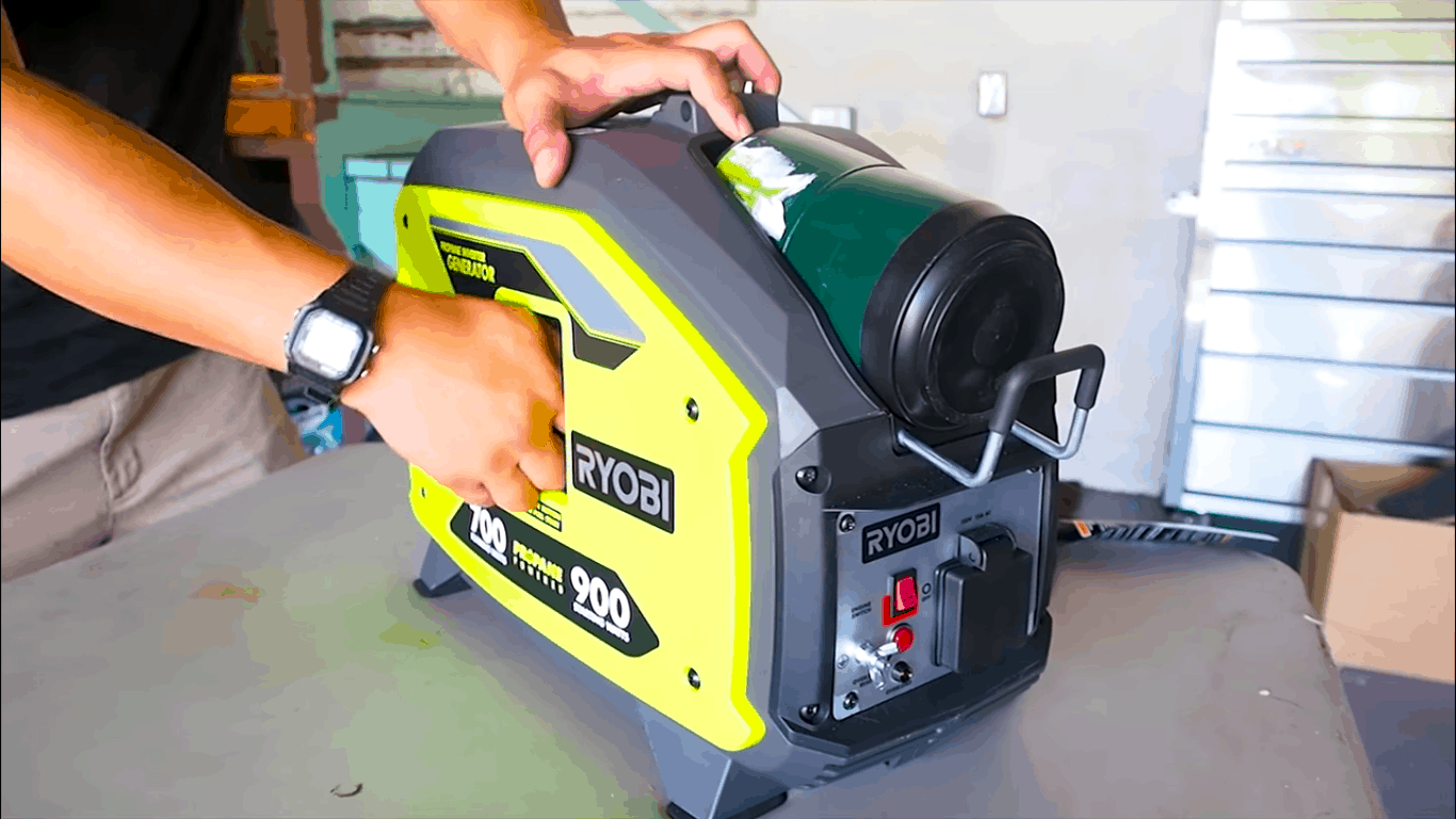 ryobi propane digital inverter generator