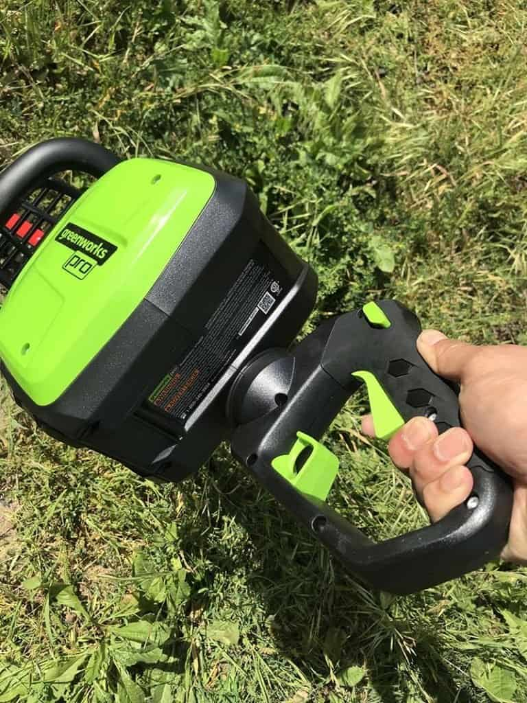 greenworks handle