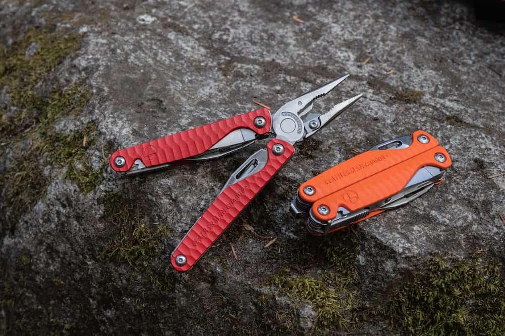 Leatherman Charge Plus G10 Red Orange