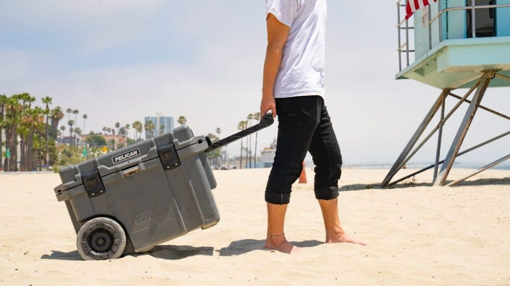 pelican wheeled cooler