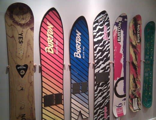 snowboard wall display rack diy