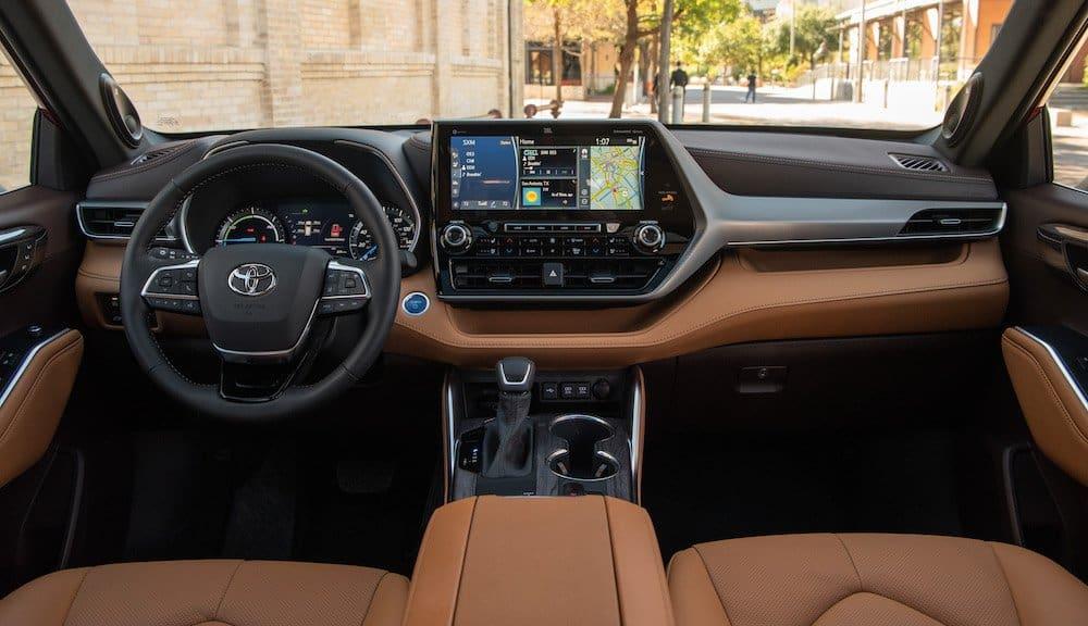 2020 Toyota Highlander Platinum Hybrid AWD Ruby Flare Pearl 054