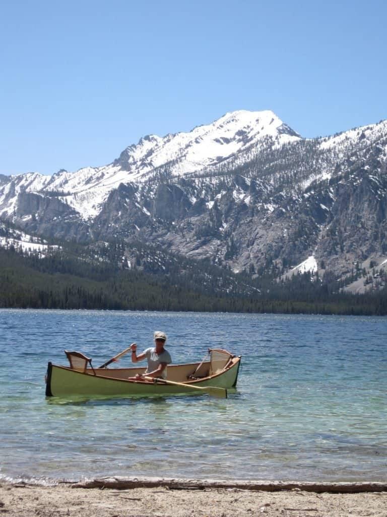 Janet Kellam Petit Lake warm May day