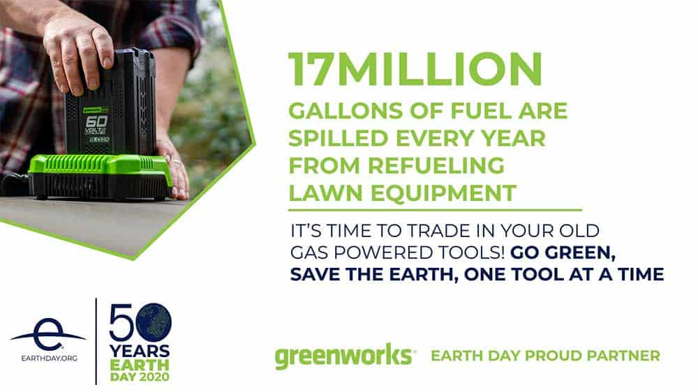 earth day greenworks