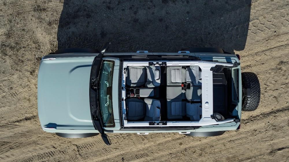 Bronco 4dr features 10