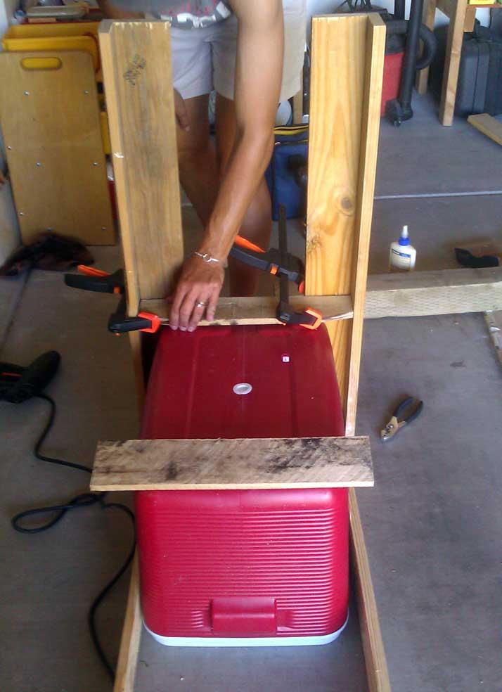 build around cooler