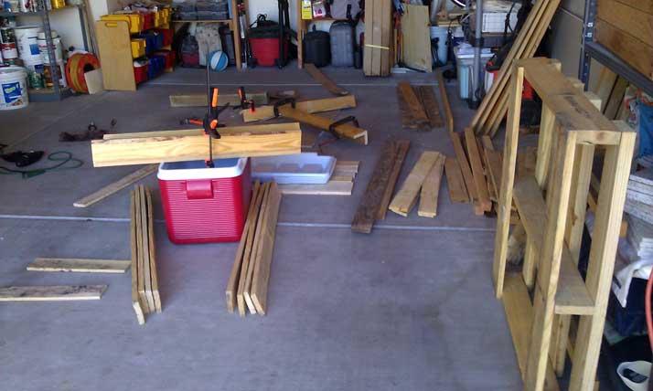 pallet workspace