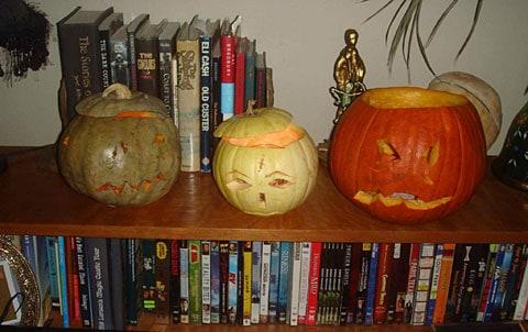 matthew gray gubler pumpkin trio