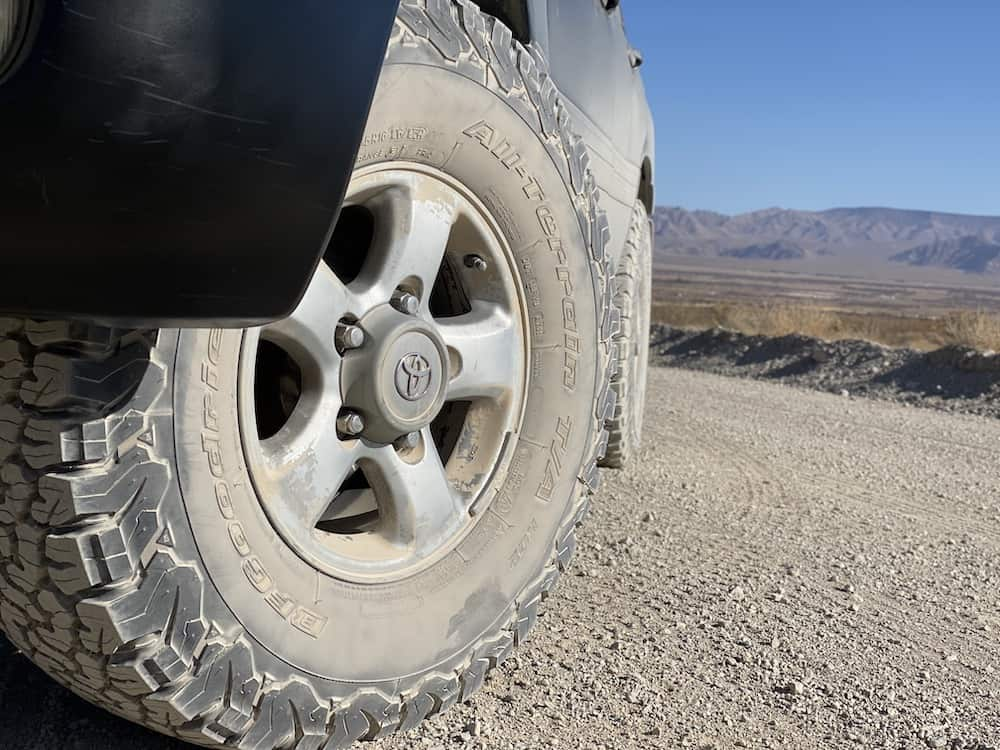 Land Cruiser 100 Series Overland BFG KO2 tires