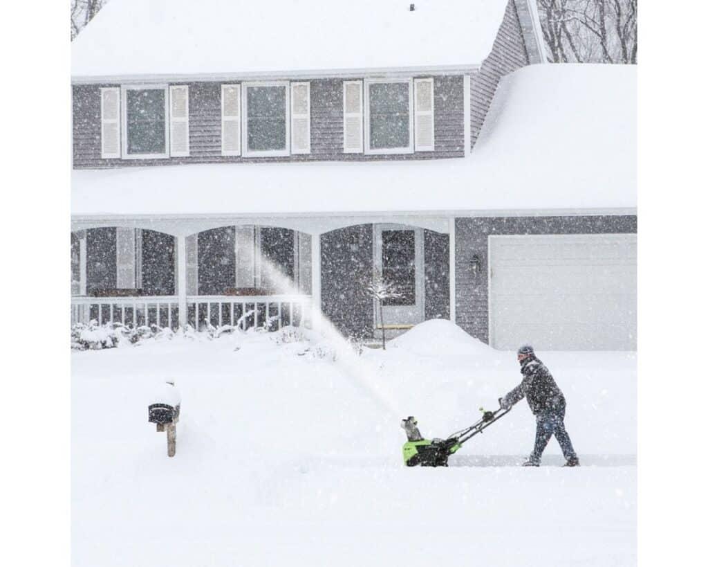 60v snow blower
