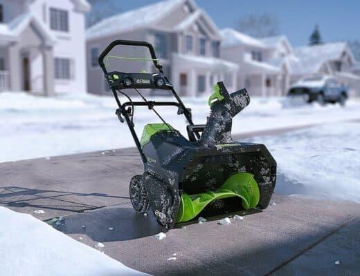 GreenWorks Pro 80V Cordless Snow Thrower 02