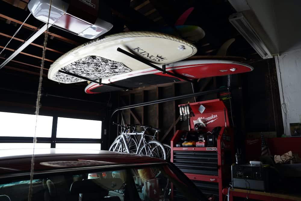 garage surfboard rack 1