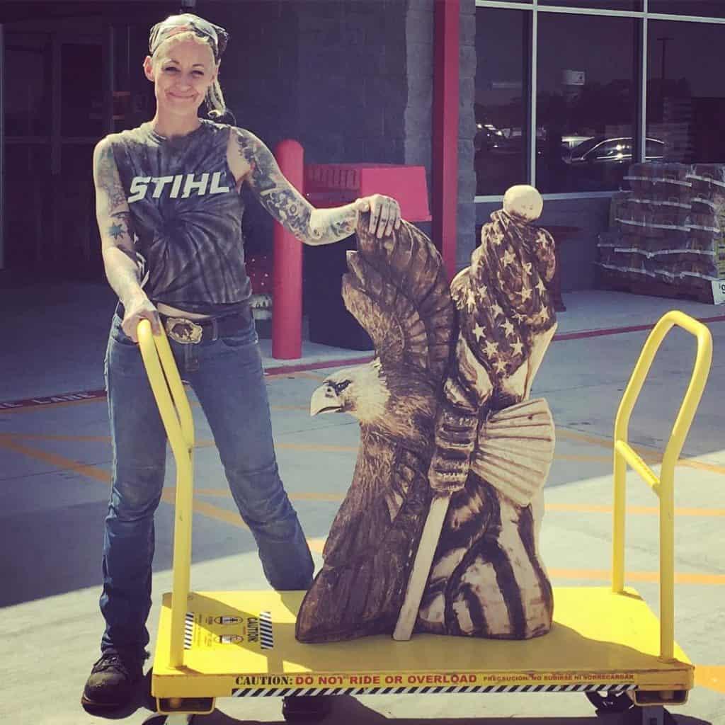 griffon ramsey chainsaw carver