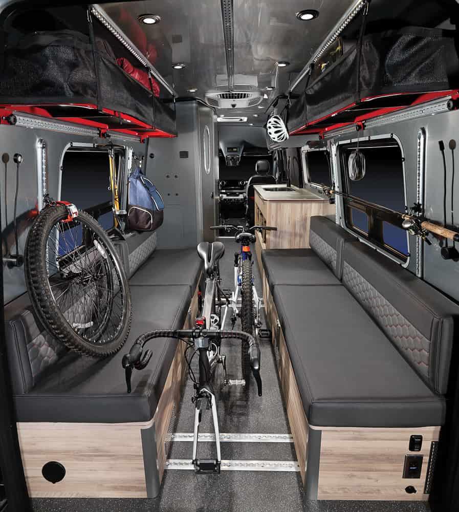 Airstream Interstate 24X Van interior 02