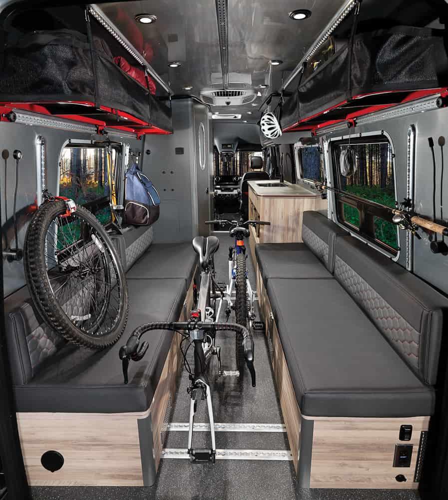 Airstream Interstate 24X Van interior 03