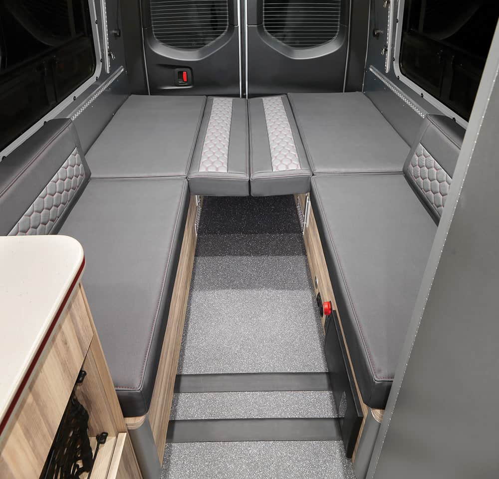 Airstream Interstate 24X Van interior 04