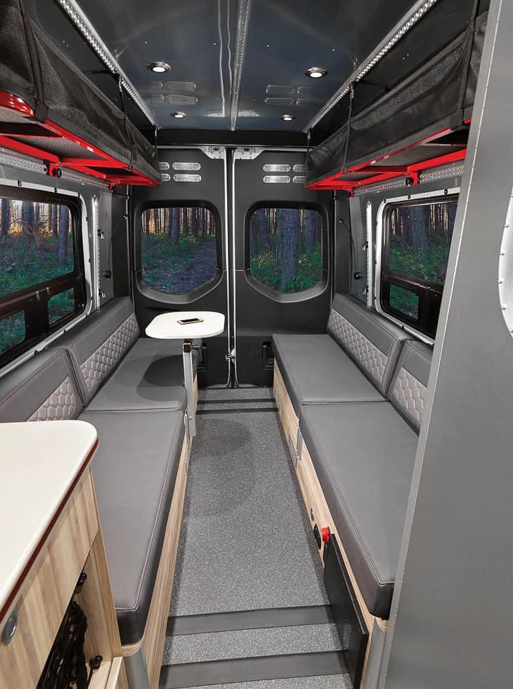 Airstream Interstate 24X Van interior 05