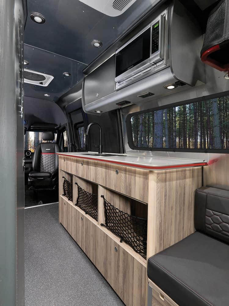 Airstream Interstate 24X Van interior 11