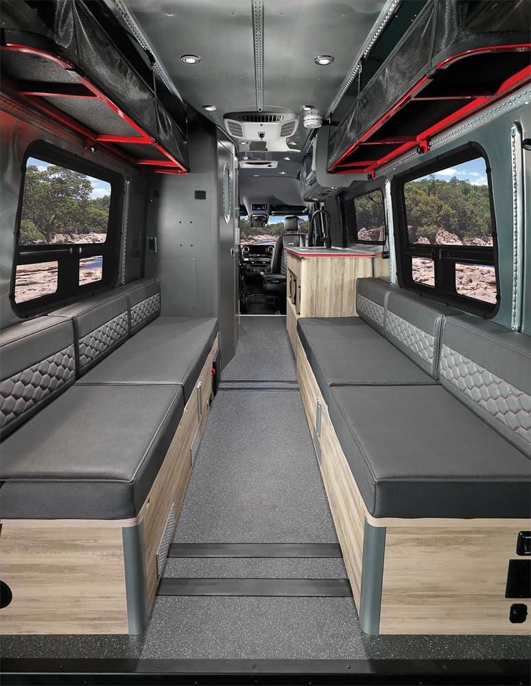 Airstream Interstate 24X Van interior 14