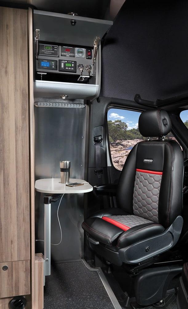 Airstream Interstate 24X Van interior 20