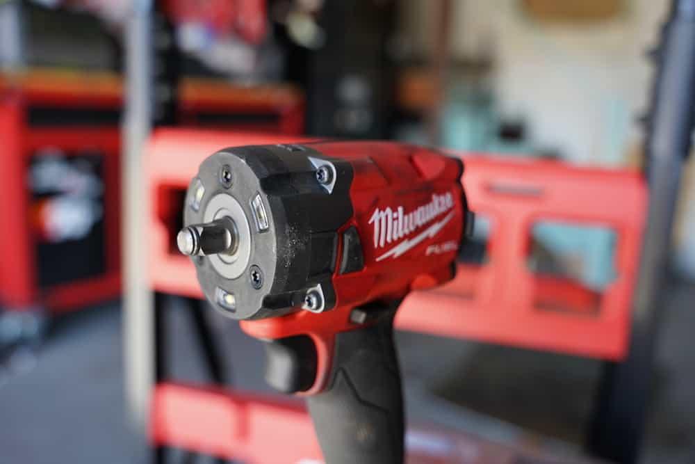 milwaukee tool impact wrench