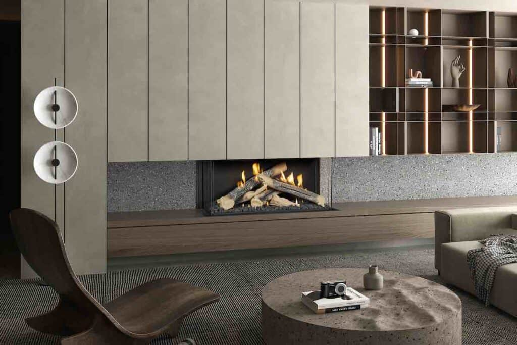 Ortal Wilderness fireplace model 51H TS